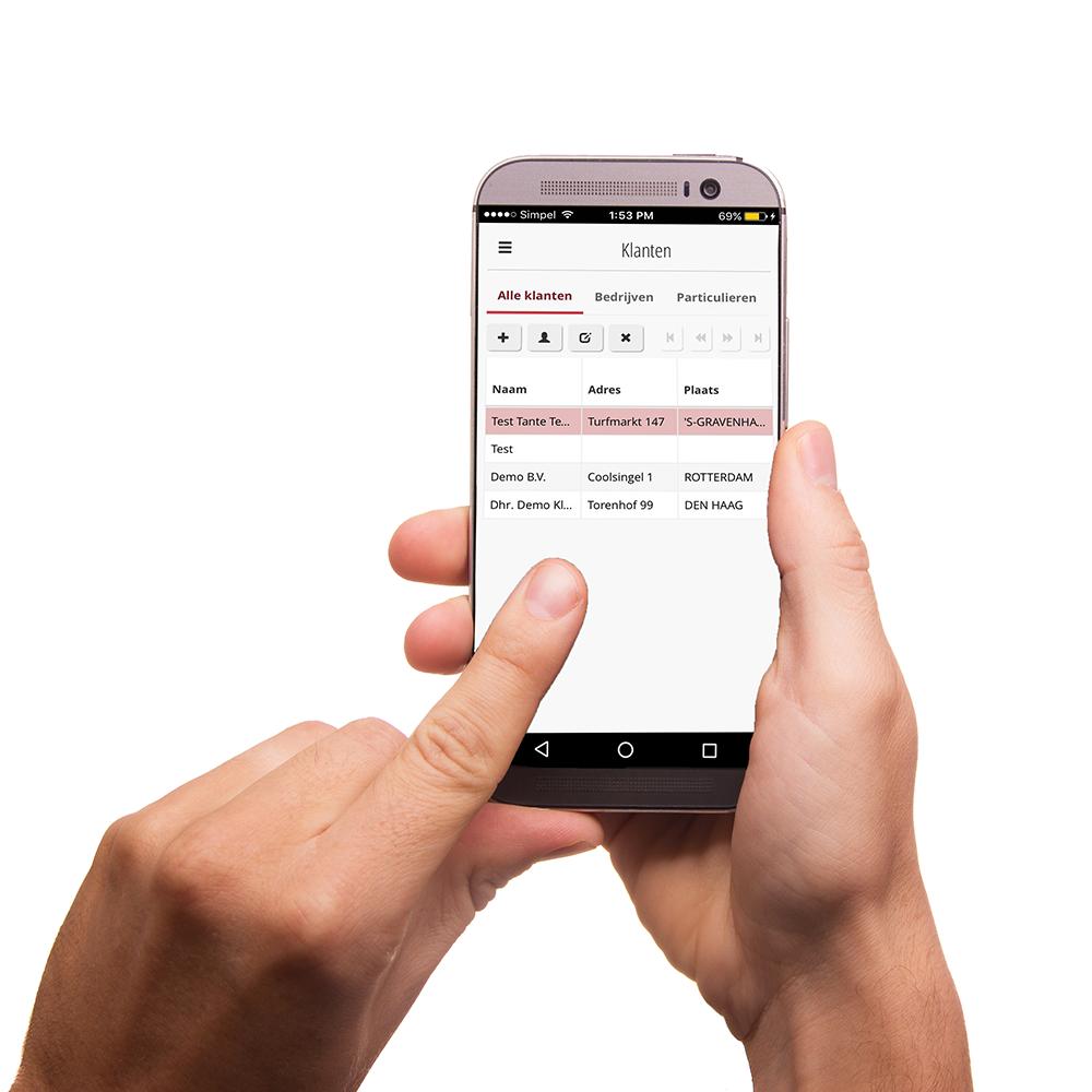 online relatiebeheer software app